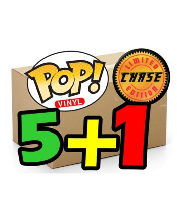 Funko POP! BLIND BOX CHASE 5 POP+1 Chase
