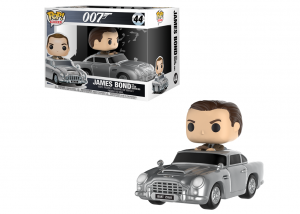 FUNKO POP JAMES BOND ASTON MARTIN SEAN CONNERY