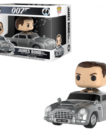 Funko POP! Rides Movies JAMES BOND and ASTON MARTIN