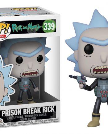 Funko POP! Animation Rick & Morty PRISON BREAK RICK 339