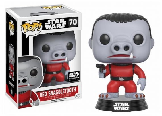 Funko POP! Star Wars RED SNAGGLETOOTH 70 Vinyl Figure