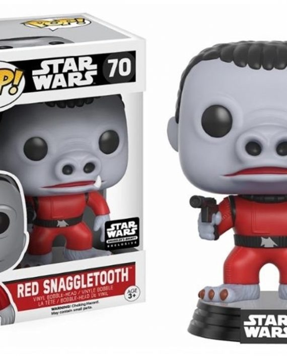 FUNKO POP STAR WARS SNAGGLETOOTH RED A