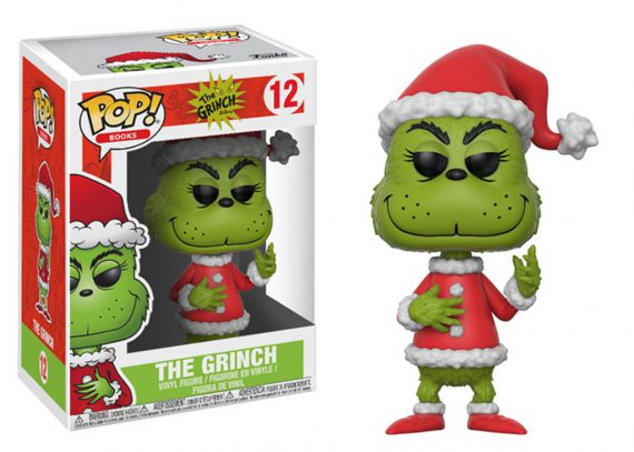 Funko POP! Books THE GRINCH Santa Outfit 12 Vinyl Figure