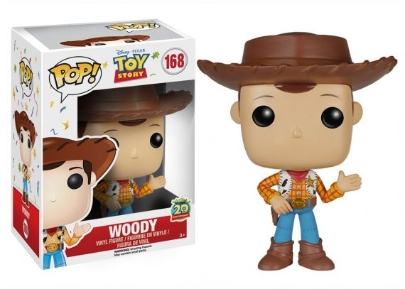 Funko POP! Disney Toy Story WOODY 168 Vinyl Figure