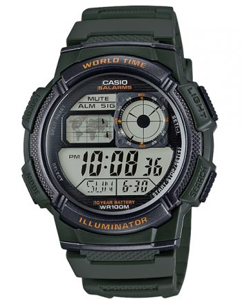 CASIO Collection AE-1000W-3A Orologio Uomo Digitale