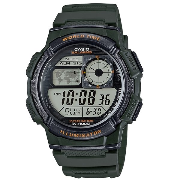 CASIO COLLECTION AE 1000W 3A A