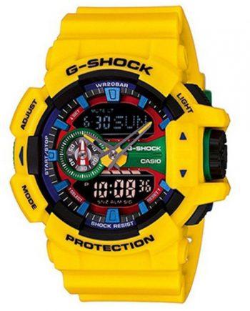 CASIO G-Shock GA-400-9A Orologio Uomo Multi Dimensional