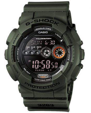 CASIO G-Shock GD-100MS-3A Orologio Uomo Digitale Military Style