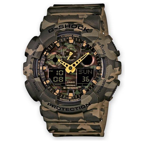 CASIO G-Shock GA-100CM-5A Orologio Uomo Camouflage