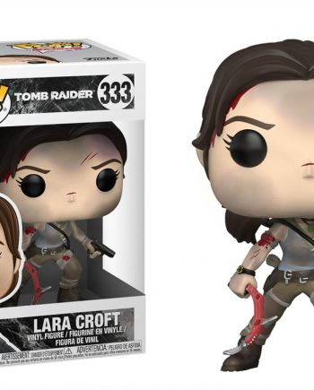 Funko POP! Games Tomb Raider LARA CROFT 333 New Version