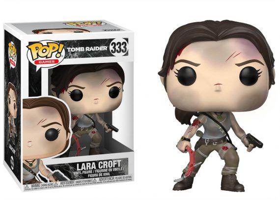 Funko POP! Games Tomb Raider LARA CROFT 333 New Version