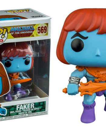 Funko POP! Television Masters of the Universe FAKER 569 EXCLUSIVE