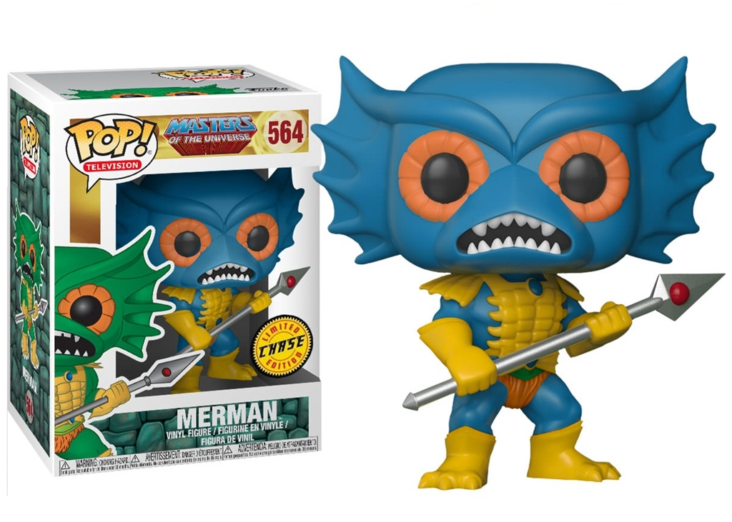 Funko Pop Television Masters Of The Universe Merman Chase 564