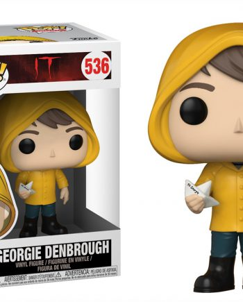 Funko POP! Movies IT GEORGIE DENBROUGH 536 Vinyl Figure