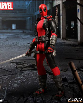 MEZCO Toys ONE:12 Collective Marvel DEADPOOL Action Figure