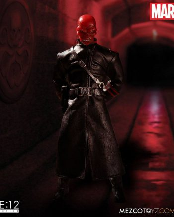 MEZCO Toys ONE:12 Collective Marvel Universe RED SKULL