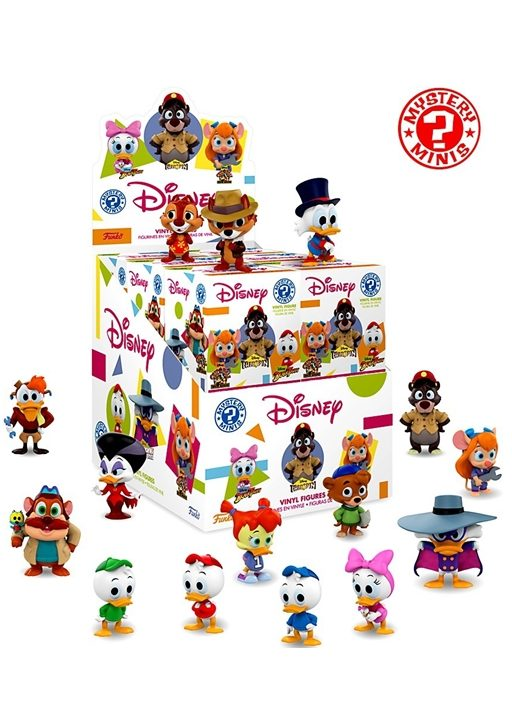 FUNKO MYSTERY MINIS disney afternoon A