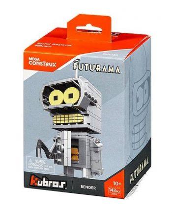 Mega Construx Kubros Futurama Bender Building Kit 12cm