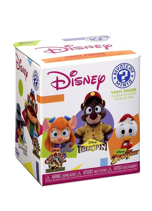 funko mystery minis disney afternoon box