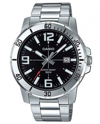 CASIO Collection MTP-VD01D-1B Orologio Uomo Quarzo