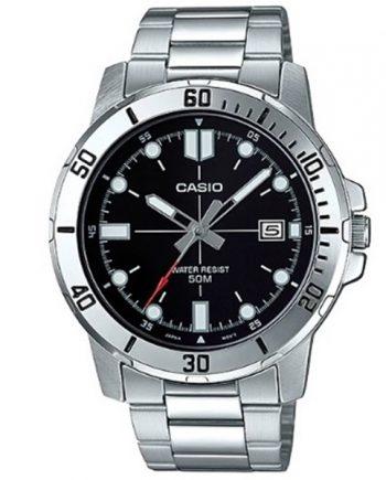 CASIO Collection MTP-VD01D-1E Orologio Uomo Acciaio