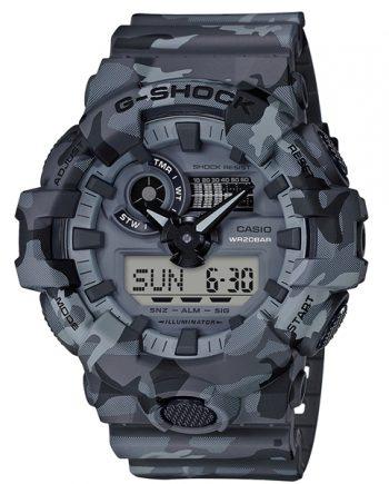 CASIO G-Shock GA-700CM-8A Orologio Uomo Camouflage