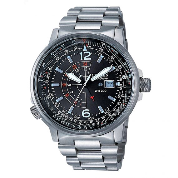 CITIZEN Eco-Drive Pilot 24h BJ7010-59E Nighthawk