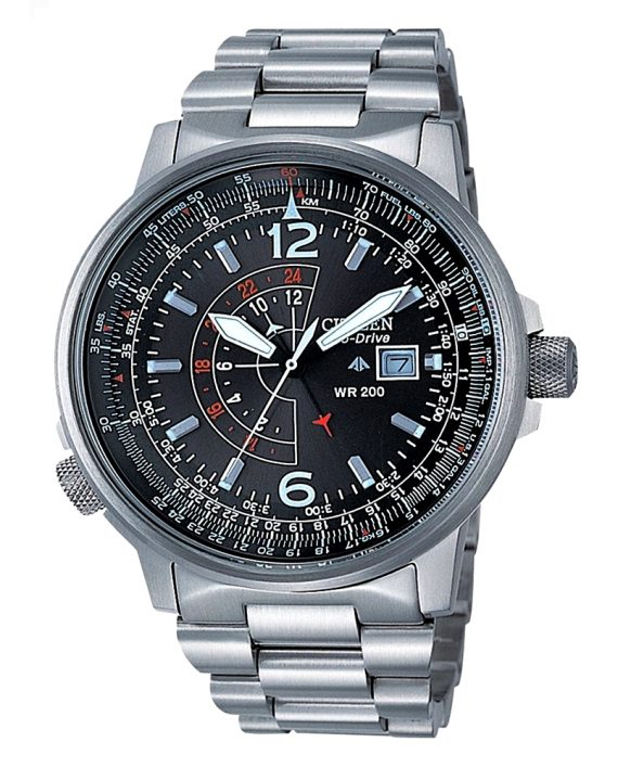 CITIZEN PILOT ECO DRIVE BJ7010 59E A