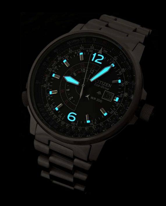 CITIZEN PILOT ECO DRIVE BJ7010 59E B