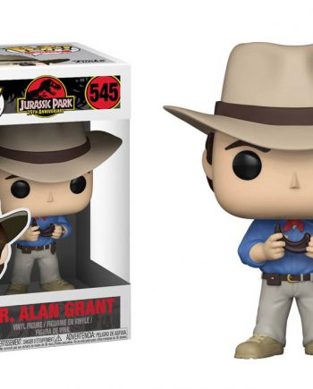 Funko POP! Movies Jurassic Park ALAN GRANT 545 Vinyl Figure