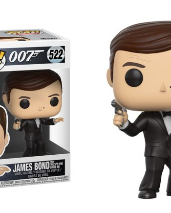 Funko POP! Movies James Bond (Roger Moore) 522 Vinyl Figure