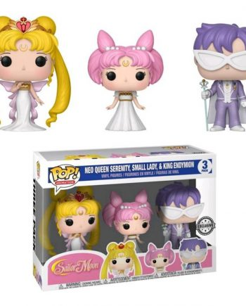 Funko POP! Sailor Moon SERENITY ENDY RINI 3-Pack