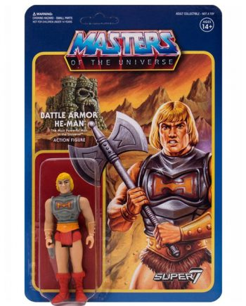 Masters of the Universe Super 7 ReAction HE-MAN BATTLE ARMOR