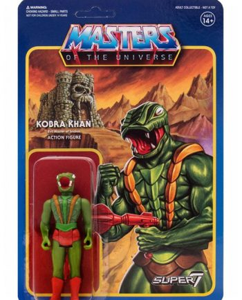 Masters of the Universe Super 7 ReAction KOBRA KHAN Action Figure