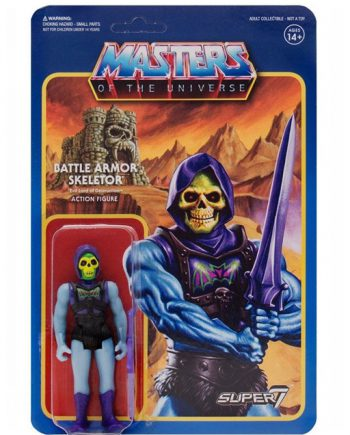 Masters of the Universe Super 7 ReAction SKELETOR BATTLE ARMOR