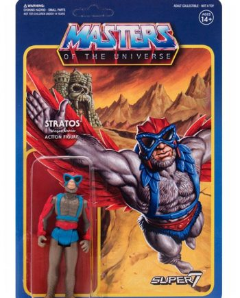 Masters of the Universe Super 7 ReAction STRATOS Action Figure 10cm