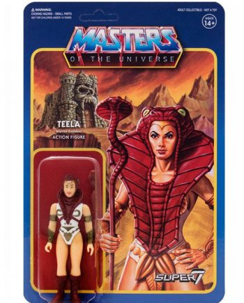 Masters of the Universe Super 7 ReAction TEELA Action Figure 10cm