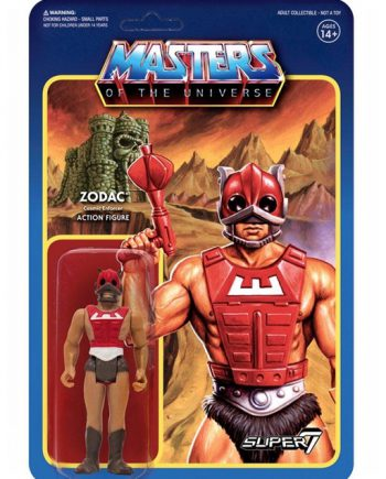 Masters of the Universe Super 7 ReAction ZODAC Action Figure 10cm