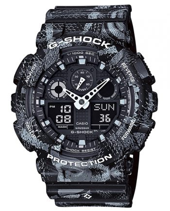 CASIO G-Shock GA-100MRB-1A MARCELO BURLON Limited Edition