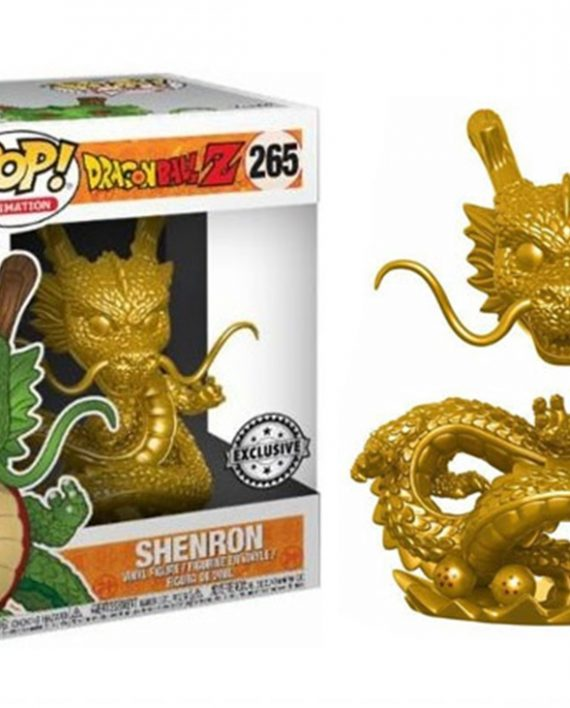 funko pop dragon ball shenron gold a