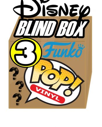 Funko POP! BLIND BOX Disney Contenente 3 Personaggi