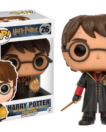 Funko POP! Harry Potter HARRY TRIWIZARD w/ GOLDEN EGG 26