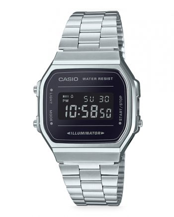 CASIO Collection A168WEM-1 Orologio da Uomo Digitale Vintage Style