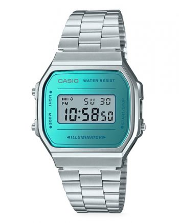 CASIO Collection A168WEM-2 Orologio da Uomo Digitale Vintage Style