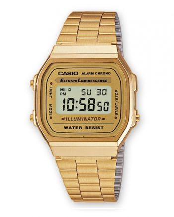 CASIO Collection A168WG-9 Orologio Uomo Digitale Vintage Style