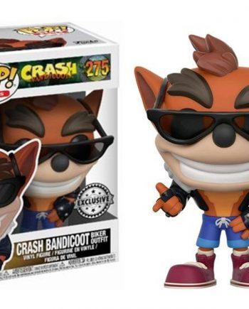 Funko POP! Games CRASH BANDICOOT Biker Outfit 275