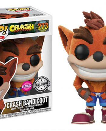 Funko POP! Games CRASH BANDICOOT Flocked 273