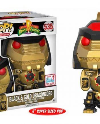 Funko POP! DRAGONZORD Black Gold NYCC 2017