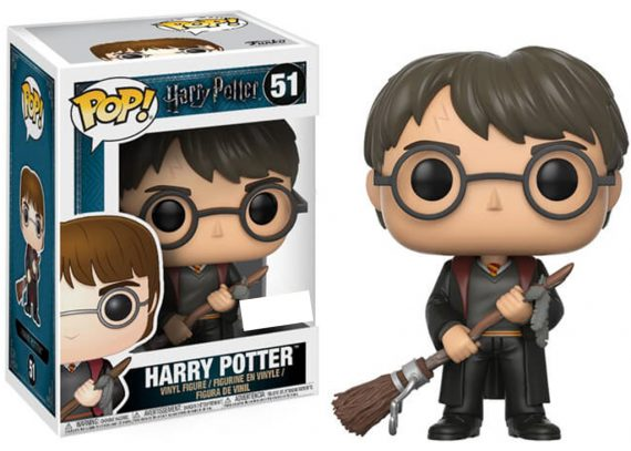 FUNKO POP! Harry Potter - Harry Potter With Firebolt 51