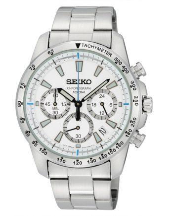 SEIKO Crono Classic SSB025P1 Orologio Uomo Quarzo Acciaio